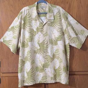 Tommy Bahama 100% Silk Shirt. Sz. XXL